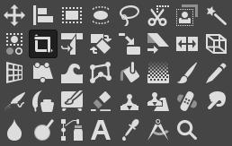 GIMPの各種ツール