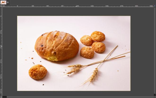 GIMPの画像ウィンドウ