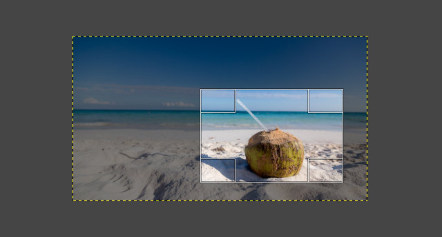 GIMPの切り抜き操作