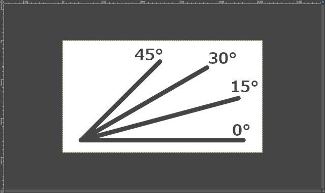 Shift + Ctrl:水平な直線を引く