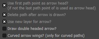 Arrow-set-sizeのその他の設定