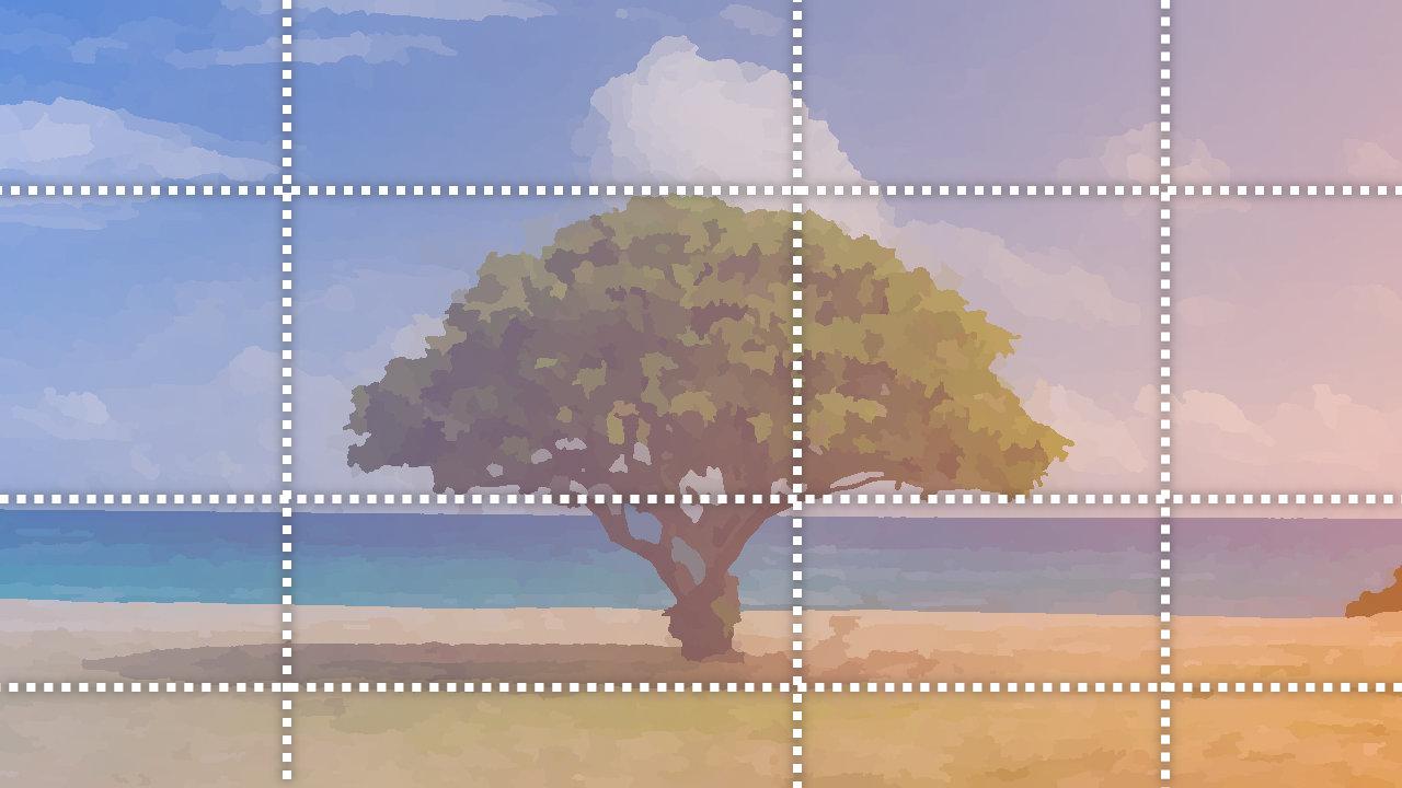 GIMP – ガイドの使い方・スナップを利用した便利な補助機能