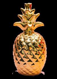 金色のパイナップル