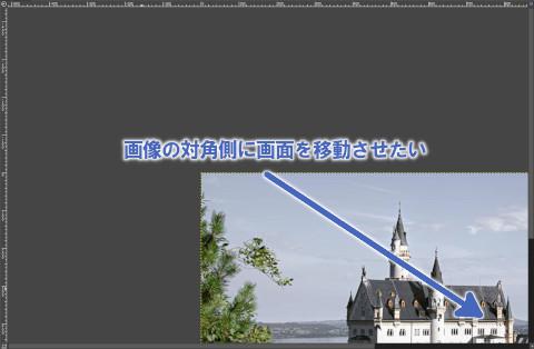 拡大縮小を使った画面の移動