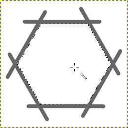 ファジー選択を使って多角形を選択する